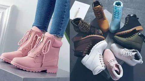 احذية شتوية ل البنات 2021