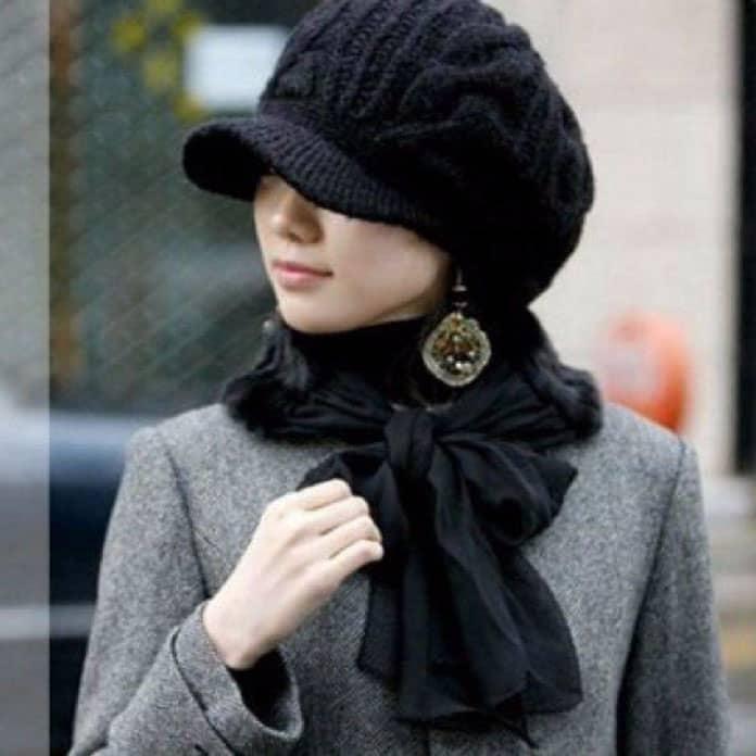 القبعات الشتوية للمحجبات