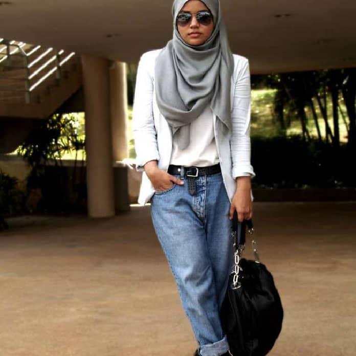 حجاب-عصري-مع-الدنيم