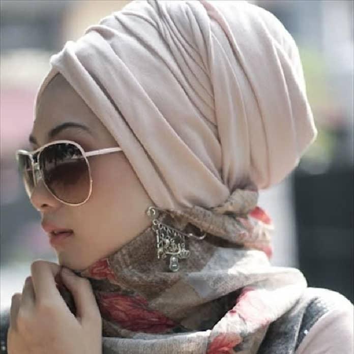 حجاب-نمط-العمامة
