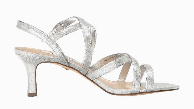 حذاء زفاف مريح من نينا جينايا
