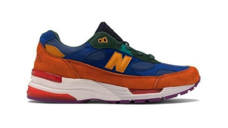حذاء 992 متعدد الألوان