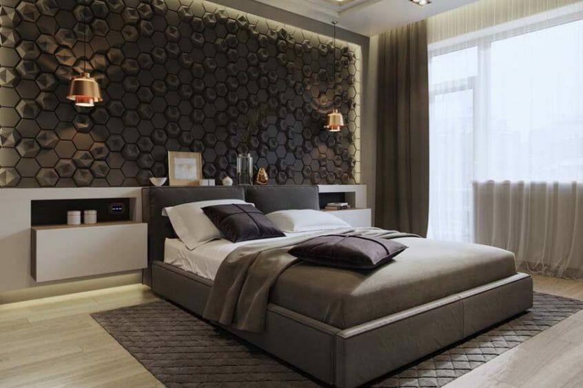ديكورات عصرية لغرف النوم