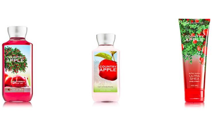 رائحة التفاح من باث اند بودي