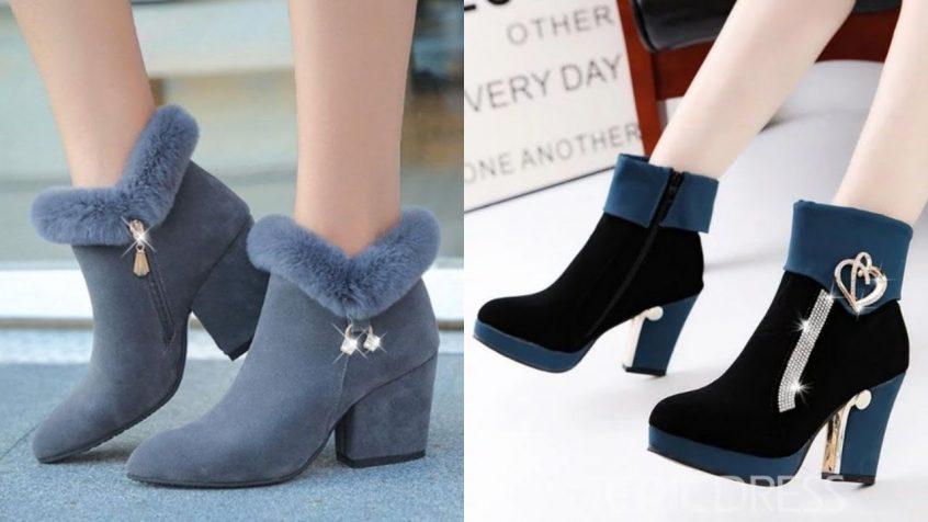 اجمل احذية الشتاء للبنات