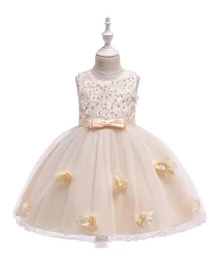 فستان سهرة منفوش للبنات