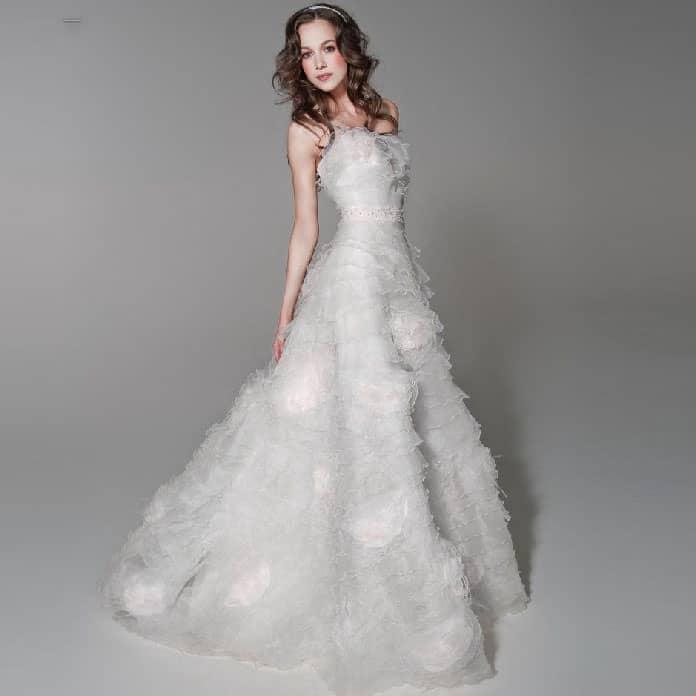 فستان-العروس-الكشكشة