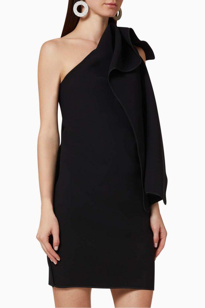 فستان فور كيبس كريب قصير
