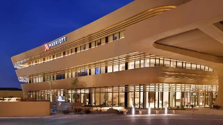 فندق ماريوت الرياض الحي الدبلوماسي