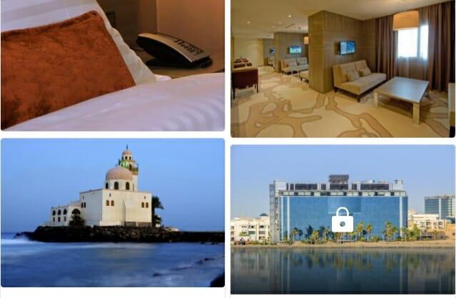 فنادق جدة على البحر رخيصة