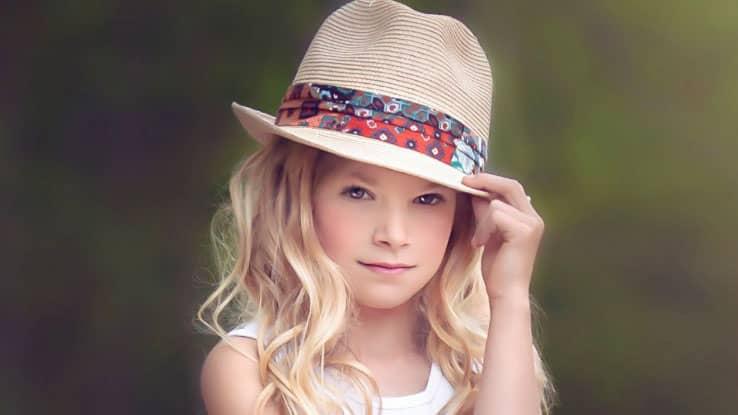 قبعات بنات 2021