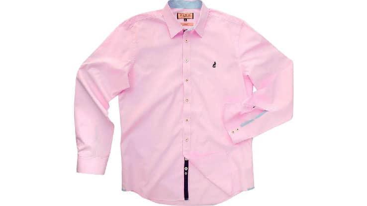 قميص ورد من Pink Shirtmaker