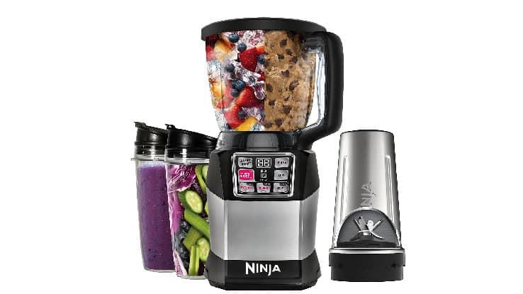 نظام المزج المدمج Nutri Ninja Auto-iQ