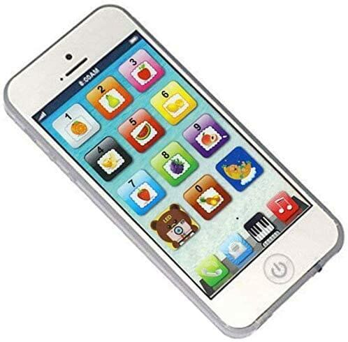 هاتف ذو تحديث جديد كما  يحتوي الهاتف على 20x من أفضل أغاني الأطفال , سيصدر رنينا عندما تلف المفتاح وعندما تضغط على الصورة من خلال الهاتف، سيتحدث أيضا .