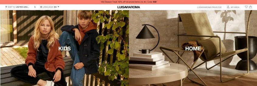 How to use my Luisaviaroma promo code, Luisaviaroma code & Luisaviaroma discount code to shop at Luisaviaroma UAE & Luisaviaroma KSA and many more.