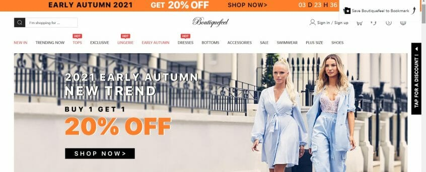 How to use your Boutiquefeel discount codes, Boutiquefeel promo codes & Boutiquefeel coupons?