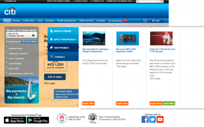 How to use my Citibank coupons, Citibank promo codes & Citibank offers