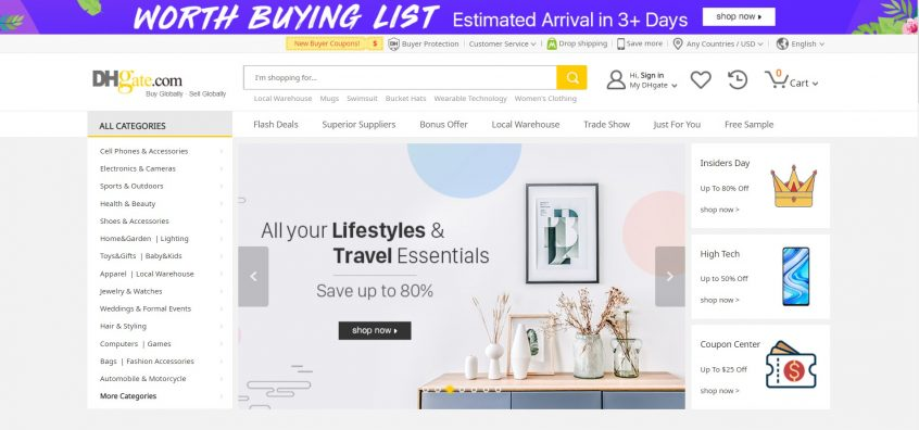 How to use my DHgate promo codes & DHgate coupons  to shop at DHgate UAE, DHgate Haul & DHgate UK and more.
