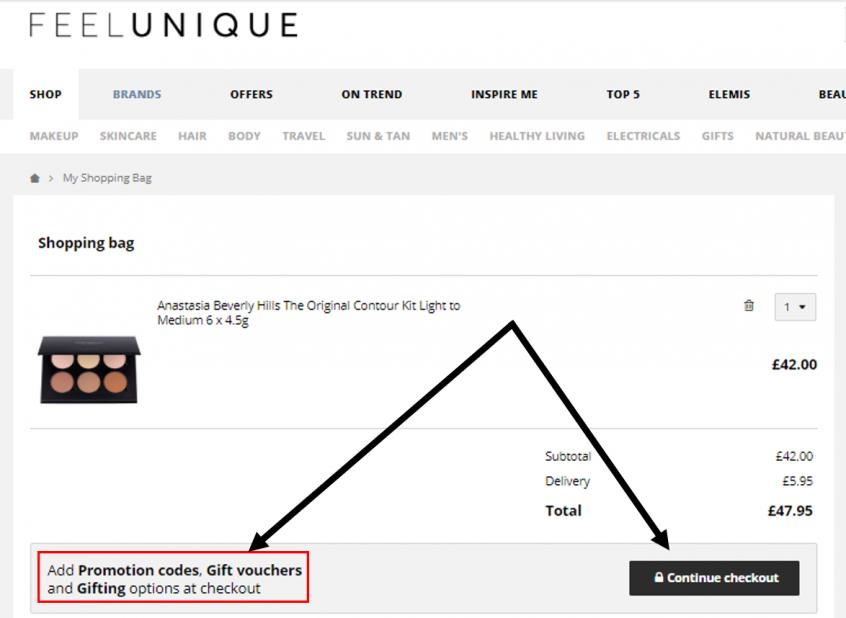 كيف استخدم كود خصم فيل يونيك كوبون خصم فيل يونيك Feelunique Promo Code Coupon