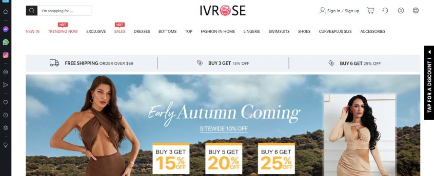 How to use my Ivrose promo code, Ivrose coupon code & Ivrose offers to shop Ivrose dresses, Ivrose pajamas & Ivrose clothing and many more