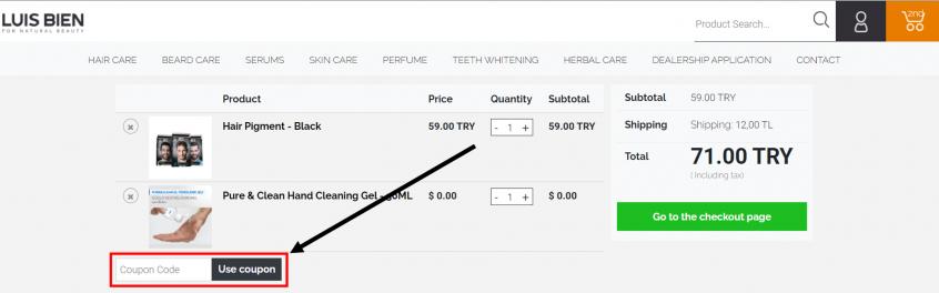 How to use my Luis Bien promo codes, Luis Bien coupons & Luis Bien offers
