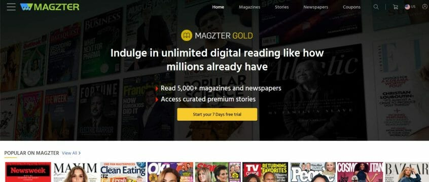 Magzter promo codes, Magzter offers coupons & Magzter redeem codes are here