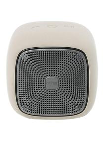 6- مكبر صوت محمول بتصميم على شكل مكعب يعمل بالبلوتوث أبيض بسعر :  جنيه 900.00