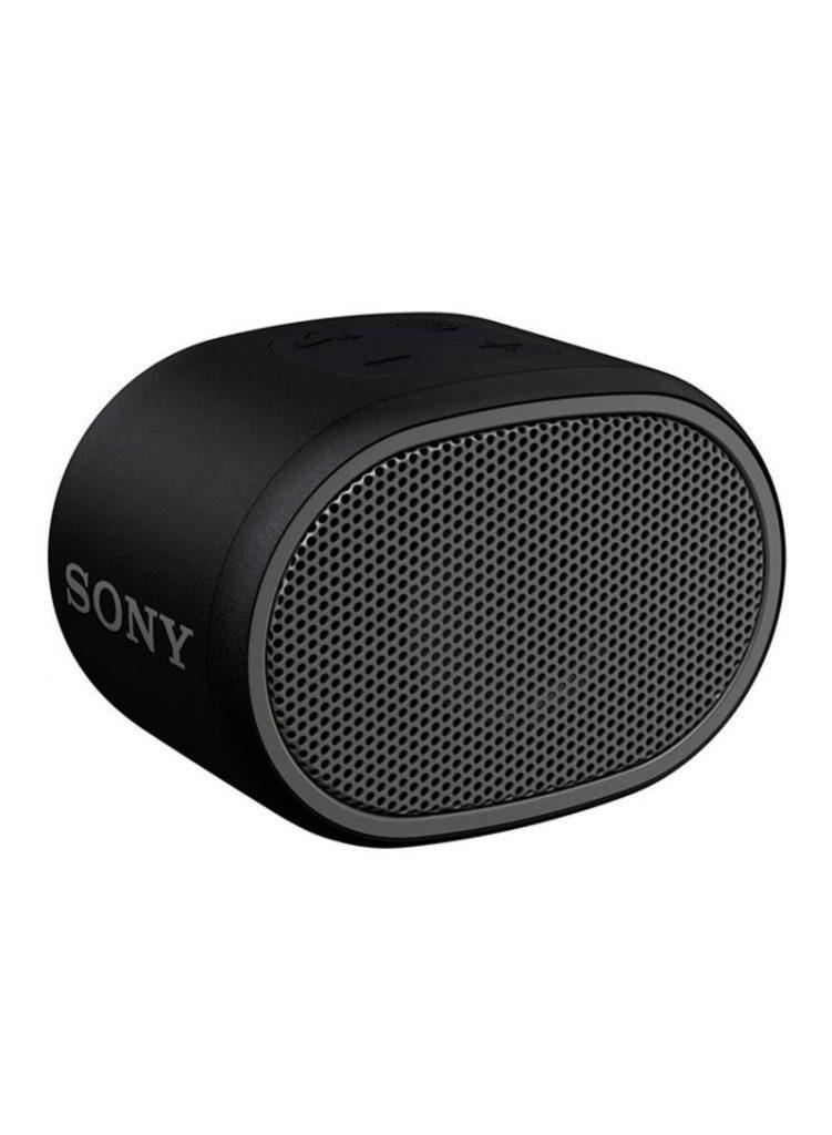 7- مكبر صوت محمول يعمل بتقنية البلوتوث مزود بصوت جهير طراز SRS-XB01 أسود بسعر : جنيه 699.00