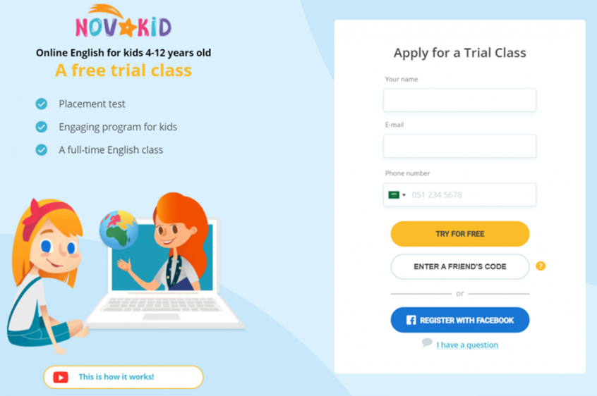 How do I use my NovaKid promo codes, NovaKid coupons & NovaKid offers to shop at NovaKid online