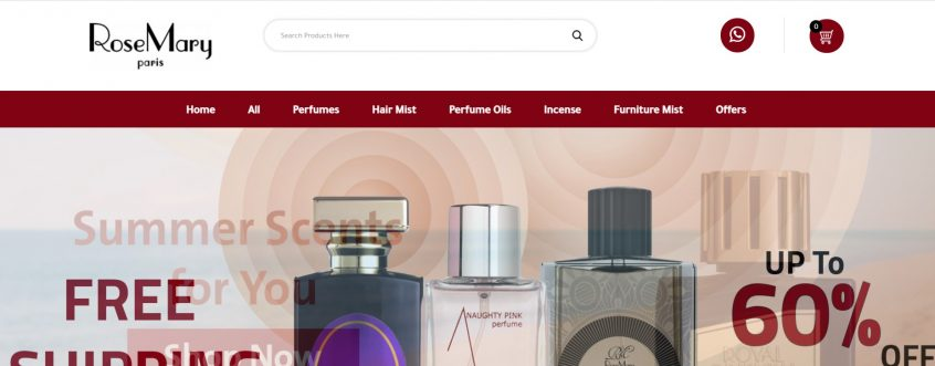 Rose Mary Paris perfume - How to use my Rose Mary paris pormo codes, Rose Mary coupons & Rose Mary deals for Rosemary perfumes and more