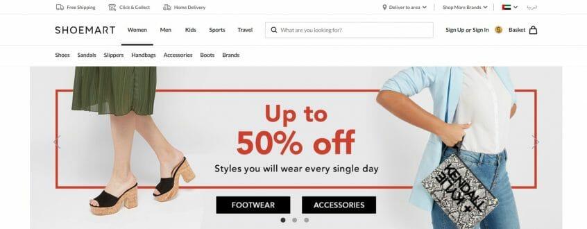 Almowafir has the latest Shoe mart promo codes, Shoe mart sales & Shoe mart coupon codes to shop at Shoe mart UAE, GCC & Shoe mart KSA and many more.