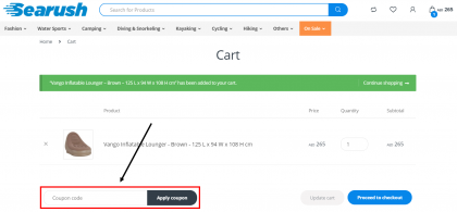 How do I use my Searush coupons, Searush promo codes & Searush offers