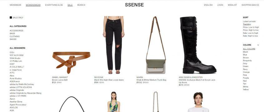 How to use my SSENSE promo codes, SSENSE coupon codes & SSENSE discount codes to shop at SSENSE UAE & SSENSE KSA