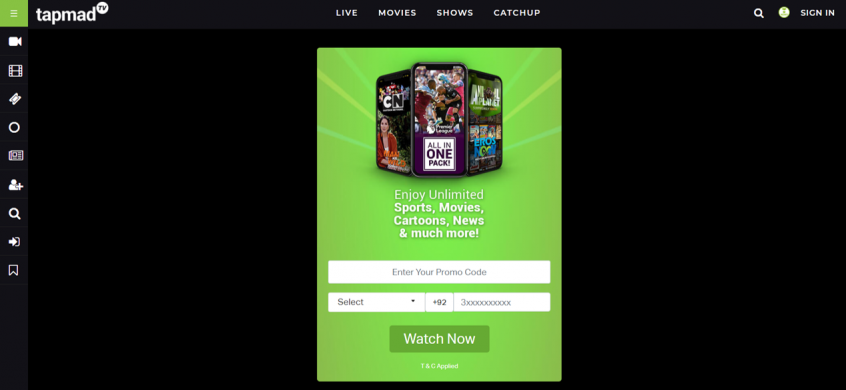 كيف أستخدم كود خصم تاب ماد أو كوبون خصم تاب ماد من أجل توفير المال عند الاشتراك في منصة تاب ماد Tapmad TV؟