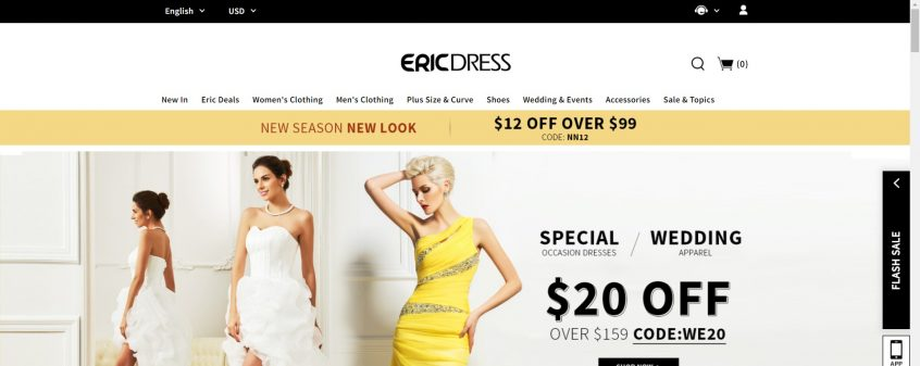 How to use my Ericdress deals, Ericdress promo codes & Ericdress coupons