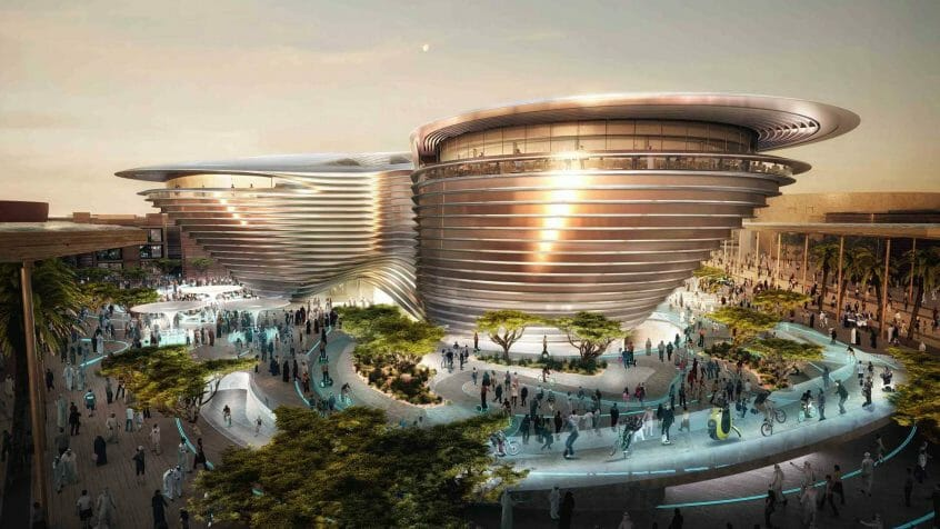 عروض إكسبو 2020 دبي ألِف ناج التنقل Alif - The Mobility Pavilion