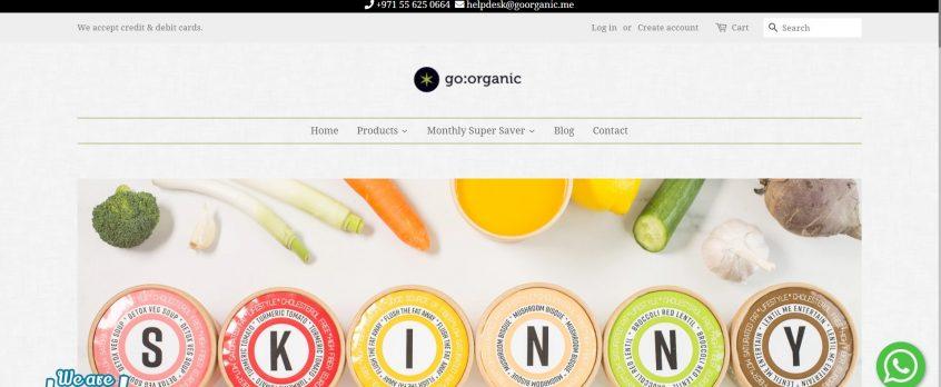 How to use my go organic discount codes, go organic promo codes & go organic deals to shop at go organic Dubai & go organic store