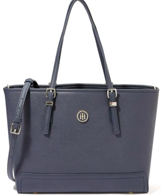 حقيبة حمل هوني كحلي من تومي هيلفيغر