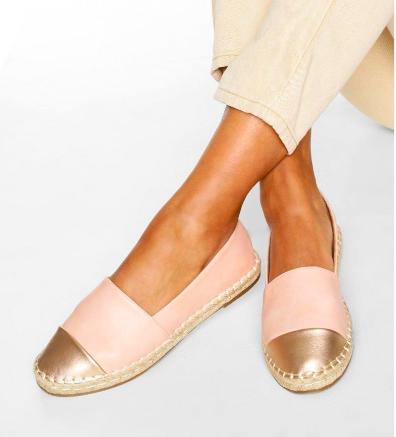 حذاء الإسبادريل من BooHoo