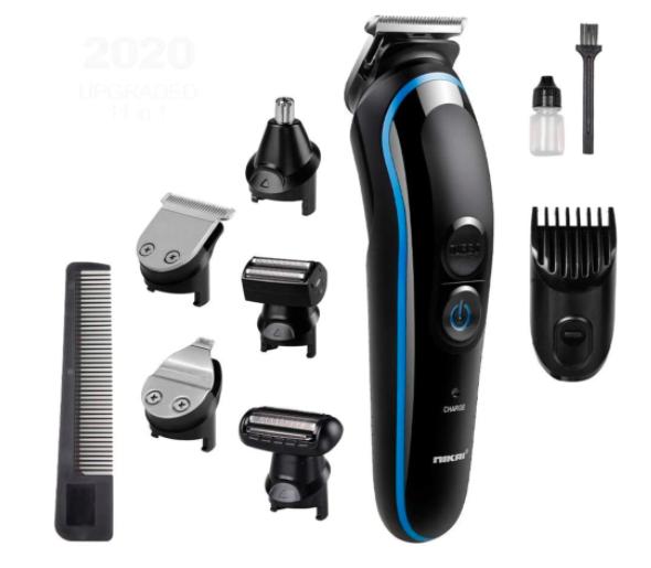 ماكينة قص الشعر الاحترافية متعددة الوظائف 5 في 1 لتشذيب الشعر وتشذيب اللحية من انفينيتو