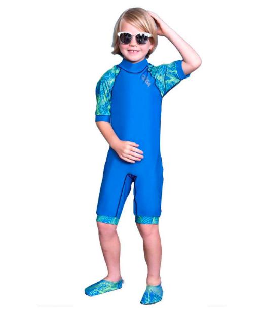 كويغا - ملابس سباحة - أزرق