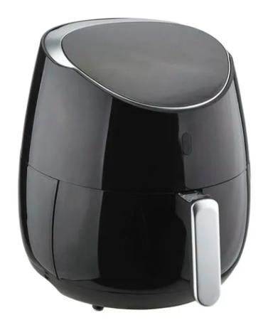 مقلاة هوائية كهربائية بقدرة 1800وات 5.5 لتر H-AF020A أسود/فضي