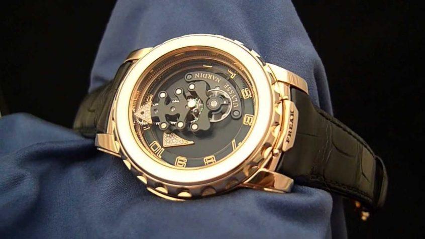 ساعة يد فوسيل جرانت للرجال