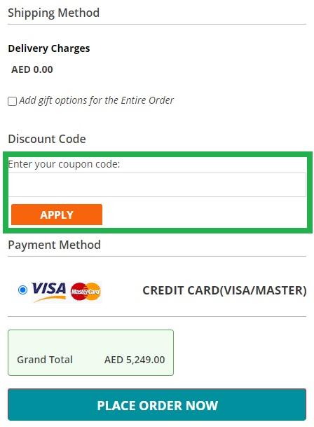 How to use Menakart UAE & KSA online coupon codes?