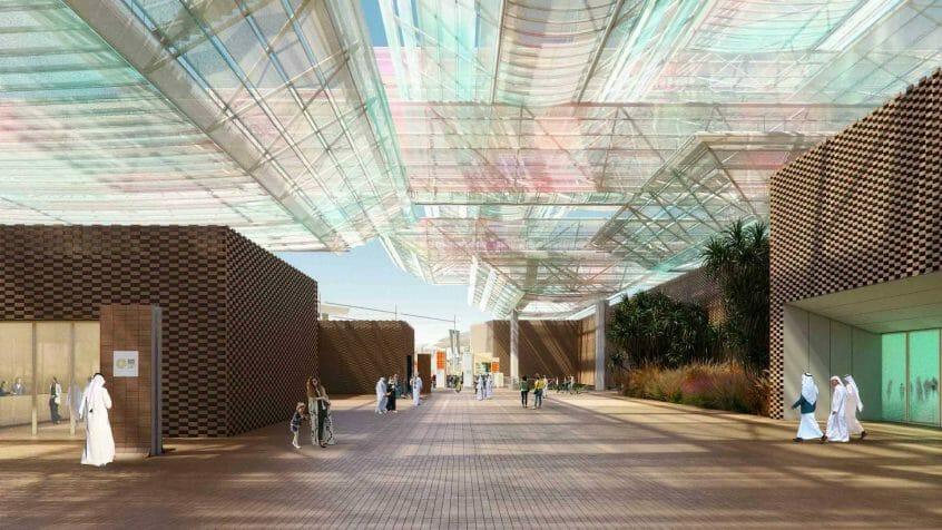 إكسبو 2020 دبي جناح فرص النجاح Mission Possible - Opportunity Pavilion