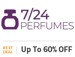 7/24 perfumes Deal: Clearance Sale: Up to 60% + 35% Discount On Sitewide Products Off