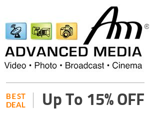 Advanced Media Deal: Get Up to 15% OFF On Selected Products Off