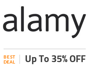 Alamy Deal: Clearance Sale: Up to 35% Discount On Sitewide Products Off