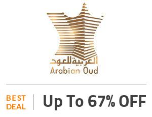 Arabian Oud Deal: Save 67% Discount On Fragrances Off