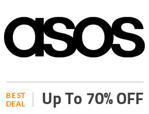ASOS Deal: Up to 70% Off On Everything Off